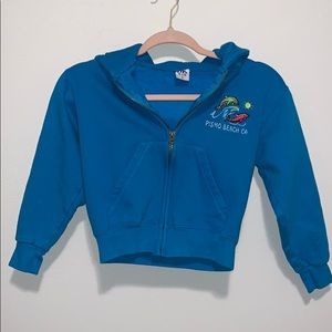 PISMO BEACH Hoodies-  big girl - Size Small